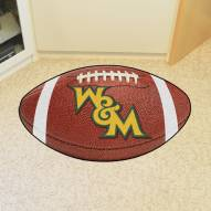 William & Mary Tribe Football Floor Mat