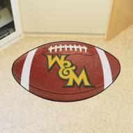 William & Mary Tribe Football Floor Mat