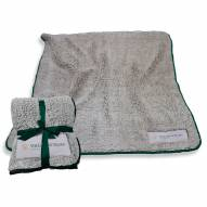 William & Mary Tribe Frosty Fleece Blanket