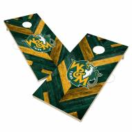 William & Mary Tribe Herringbone Cornhole Game Set