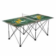 William & Mary Tribe Pop Up 6' Ping Pong Table