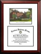 William & Mary Tribe Scholar Diploma Frame