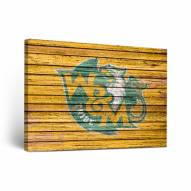 William & Mary Tribe Weathered Canvas Wall Art