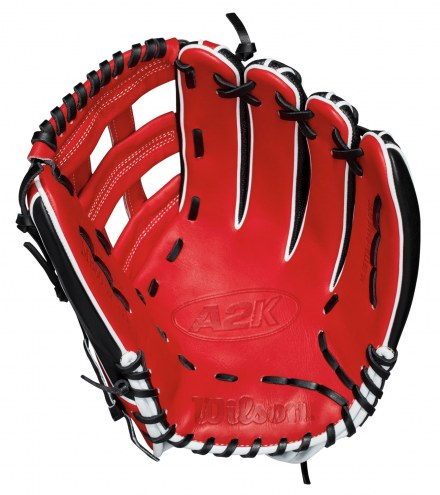 """Wilson 2018 A2K Mookie Betts 12.75"""" Outfield Baseball Glove - Right Hand Throw"""