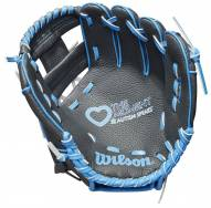 """Wilson A200 Love the Moment Autism Speaks 10"""" Youth Baseball Glove - Right Hand Throw"""