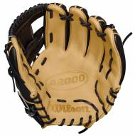 "Wilson A2000 1786 Black and Blonde 11.5"" Infielder Baseball Glove - Right Hand Throw"