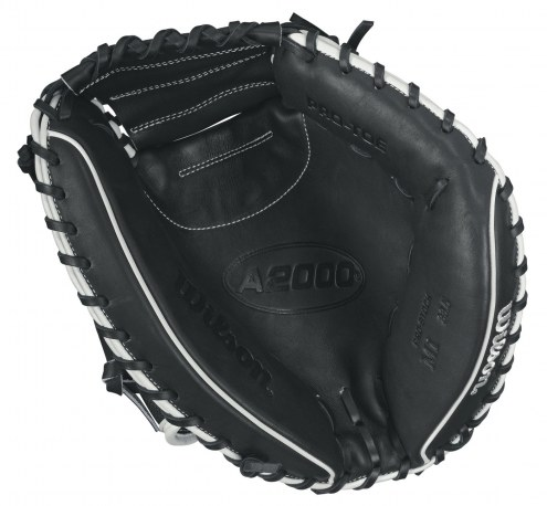 "Wilson A2000 M1 SuperSkin 33.5"" Baseball Catcher's Mitt - Right Hand Throw"