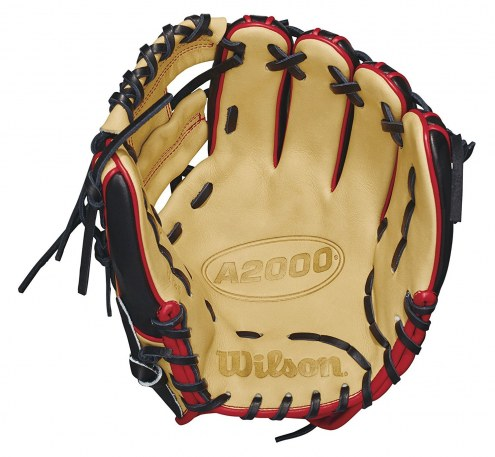 """Wilson A2000 Pedroia Fit 11.25"""" Infield Baseball Glove - Right Hand Throw"""