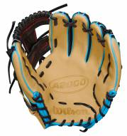 """Wilson A2000 SuperSkin Pedroia Fit 11.5"""" Infield Baseball Glove - Right Hand Throw"""