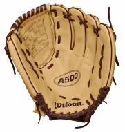 """Wilson A500 12"""" Youth All Positions Baseball Glove - Right Hand Throw"""