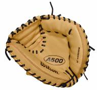 "Wilson A500 32"" Youth Baseball Catcher's Mitt - Right Hand Throw"