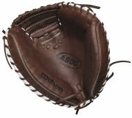 "Wilson A900 34"" Baseball Catcher's Mitt - Right Hand Throw"