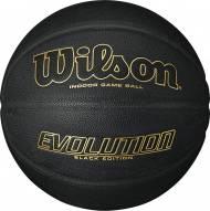 Wilson Evolution Game Basketball - Black / Gold Edition