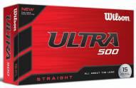Wilson Staff Ultra 500 Straight Golf Balls - 15 pack