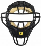 "Wilson West 10"" Vest Dyna Lite Umpires Face Mask - Leather"