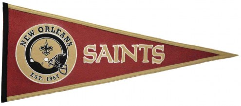 Winning Streak New Orleans Saints NFL Pigskin Pennant