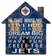 "Winnipeg Jets 12"" House Sign"