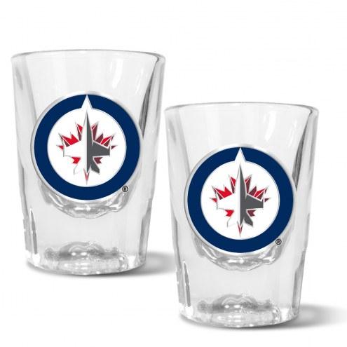Winnipeg Jets 2 oz. Prism Shot Glass Set