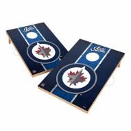 Winnipeg Jets 2' x 3' Vintage Wood Cornhole Game