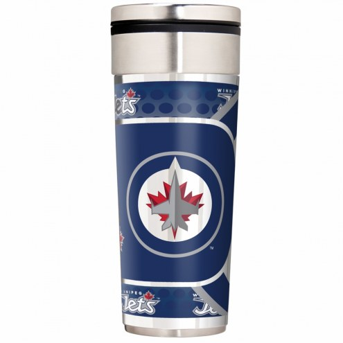 Winnipeg Jets 22 oz. Hi Def Travel Tumbler