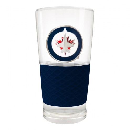 Winnipeg Jets 22 oz. Score Pint Glass