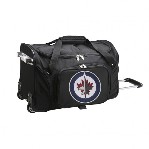 "Winnipeg Jets 22"" Rolling Duffle Bag"