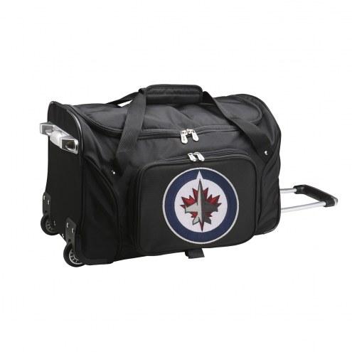 "Winnipeg Jets 22"" Rolling Duffle Bag"