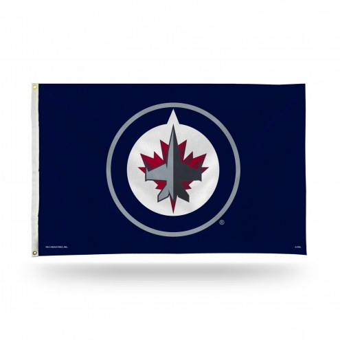 Winnipeg Jets 3' x 5' Banner Flag
