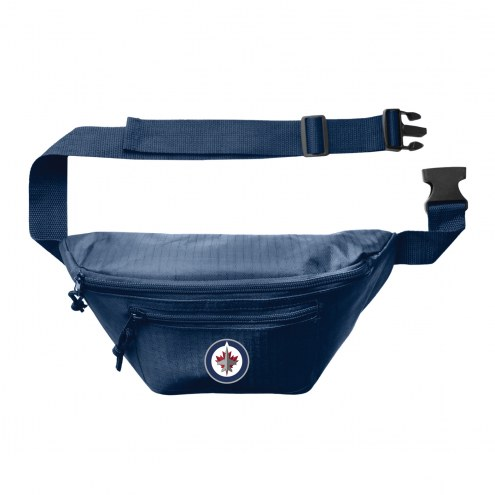 Winnipeg Jets 3-Zip Hip Fanny Pack