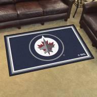 Winnipeg Jets 4' x 6' Area Rug