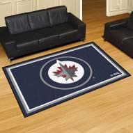 Winnipeg Jets 5' x 8' Area Rug