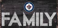 "Winnipeg Jets 6"" x 12"" Family Sign"
