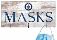 "Winnipeg Jets 6"" x 12"" Mask Holder"