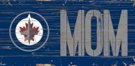 "Winnipeg Jets 6"" x 12"" Mom Sign"