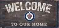 "Winnipeg Jets 6"" x 12"" Welcome Sign"