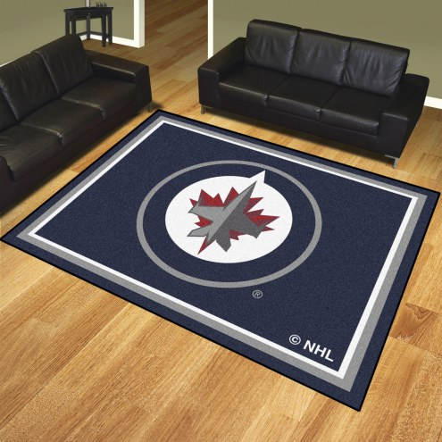 Winnipeg Jets 8' x 10' Area Rug