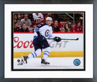 Winnipeg Jets Adam Lowry Action Framed Photo