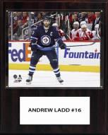 "Winnipeg Jets Andrew Ladd 12"" x 15"" Player Plaque"