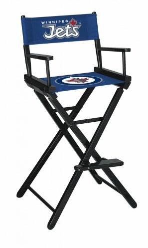 Winnipeg Jets Bar Height Director's Chair
