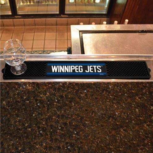 Winnipeg Jets Bar Mat