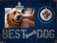Winnipeg Jets Best Dog Clip Frame