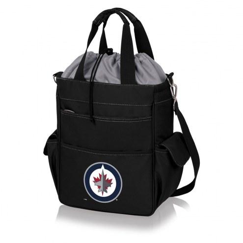 Winnipeg Jets Black Activo Cooler Tote
