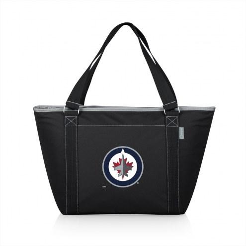 Winnipeg Jets Black Topanga Cooler Tote