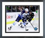Winnipeg Jets Blake Wheeler Action Framed Photo
