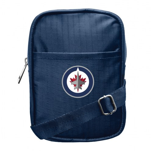 Winnipeg Jets Camera Crossbody Bag