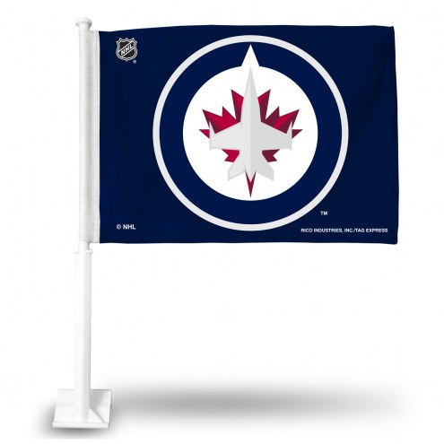 Winnipeg Jets Car Flag