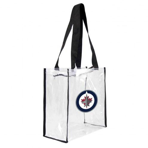 Winnipeg Jets Clear Square Stadium Tote