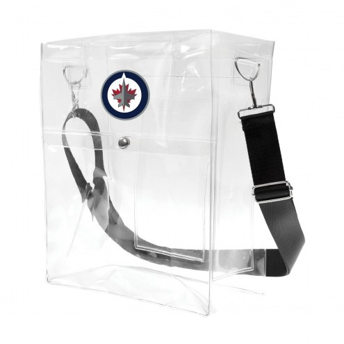 Winnipeg Jets Clear Ticket Satchel
