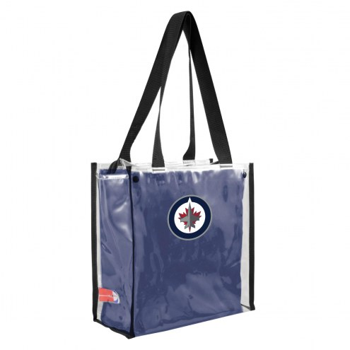 Winnipeg Jets Convertible Clear Tote