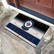 Winnipeg Jets Crumb Rubber Door Mat